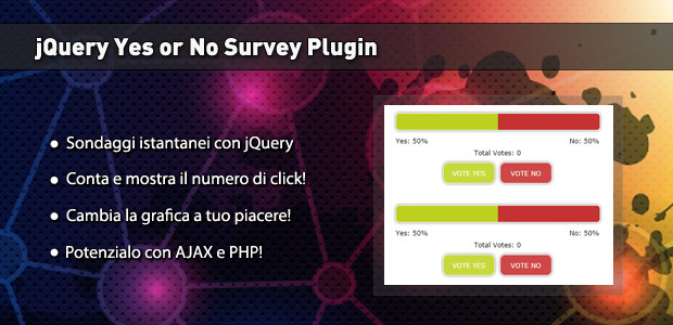 jquery yes or no survey plugin