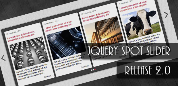 jQuery news slider